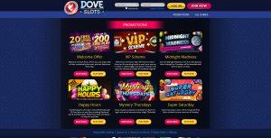 Dove Slots Promotions