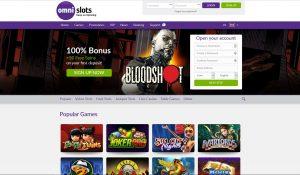 Omni Slots Casino Homepage