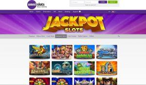 Omni Slots Casino Jackpot Slots Page