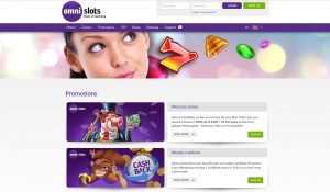 Omni Slots Casino Promotions Page