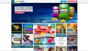 Prime Slots Homepage