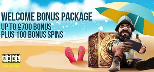Reel Island Welcome Bonus