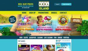 Reel Island Homepage