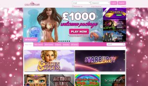 Spin Princess Homepage