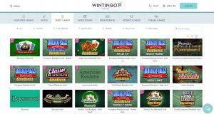 Wintingo Table Games