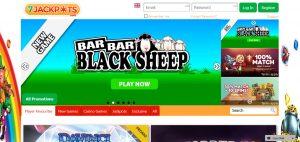 7 Jackpots Casino Homepage