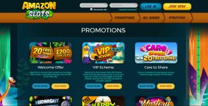 Amazon Slots Casino Promotions