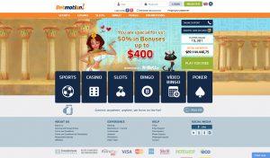 Betmotion Homepage