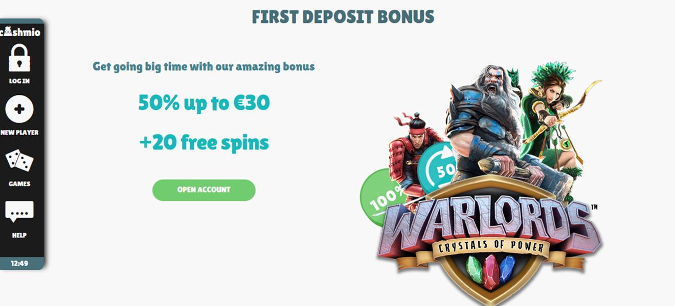 100 First Deposit Bonus at PowerPlay Casino