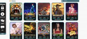 Cashmio Casino Games