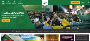 Mr Green Casino Homepage