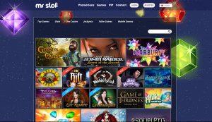 Mr Slot Casino Games