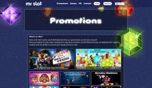 Mr Slot Casino Promotions
