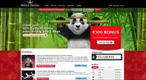 Royal Panda Casino Promotions