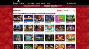 Royal Panda Casino Games