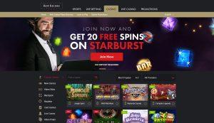Roy Richie Casino Games