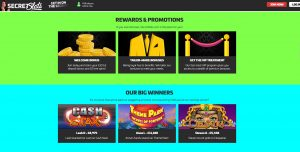 Secret Slots Casino Promotions