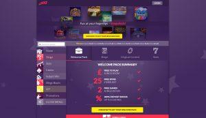 Slingo Casino Homepage