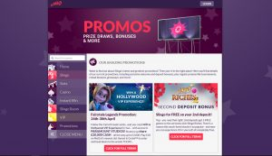 Slingo Casino Promotions