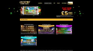 Jackpot Mobile Casino Promotions