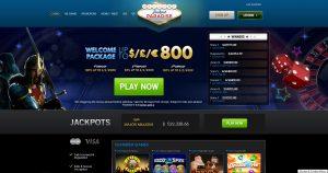 Jackpot Paradise Casino Homepage