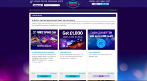 Magical Vegas Casino Promotions