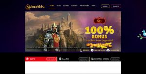 Spinsvilla Casino Homepage