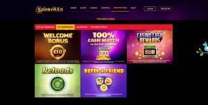 Spinsvilla Casino Promotions