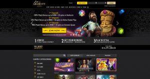 The Grand Ivy Casino Homepage