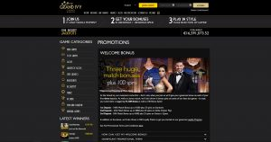 The Grand Ivy Casino Promotions
