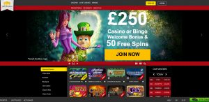 The Palaces Casino Homepage