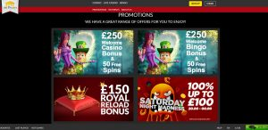 The Palaces Casino Promotions
