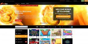Wild Slots Casino Homepage
