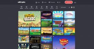 Wild Spins Casino Games