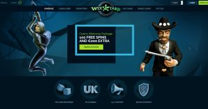 Wixstars Casino Homepage