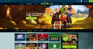Wixstars Casino Table Games
