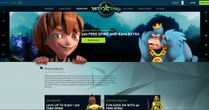 Wixstars Casino Promotions